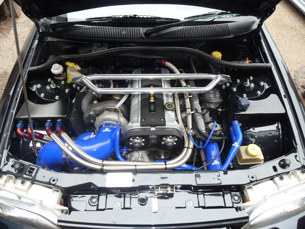 Ford Escort and Sierra Cosworth Tuning Setup and Power